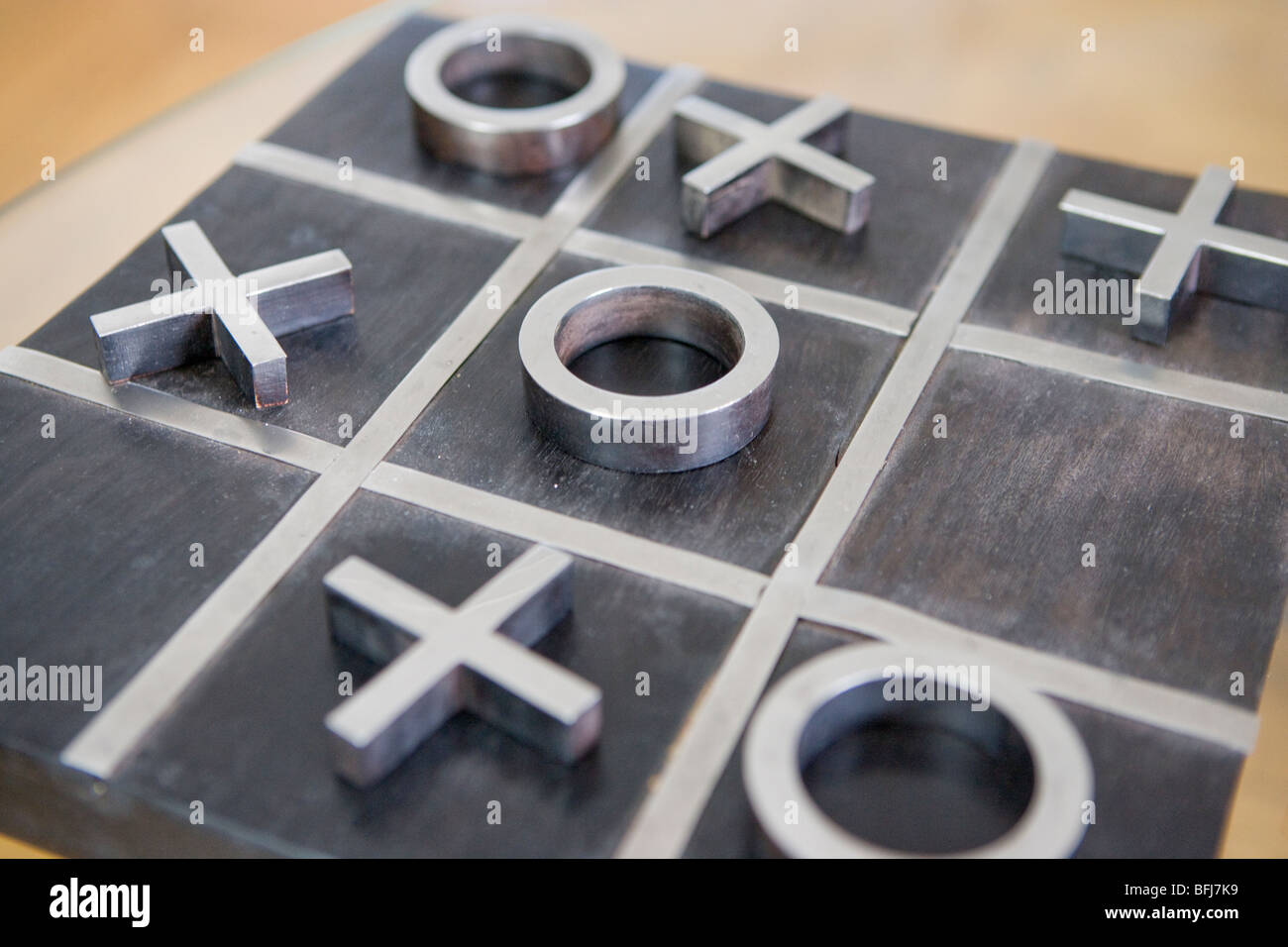 Parlour game, close-up, Sweden. - Stock Image