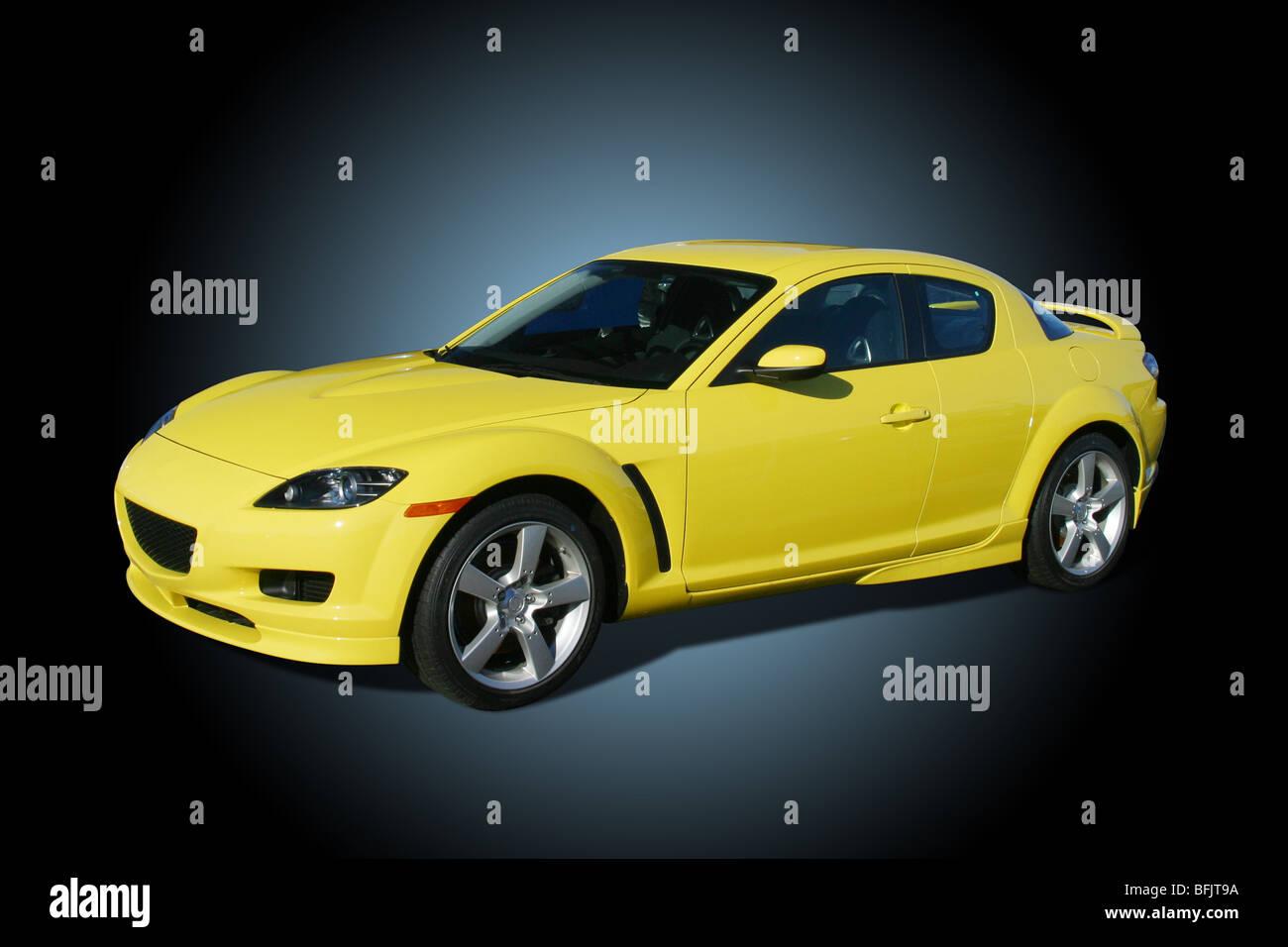 Mazda Yellow Stock Photos & Mazda Yellow Stock Images - Alamy