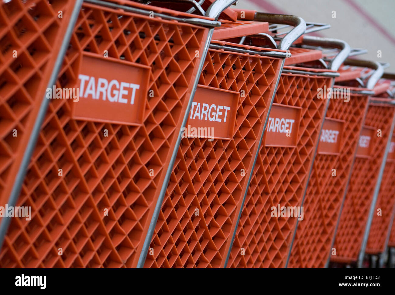 A Target retail location in suburban Maryland.  - Stock Image