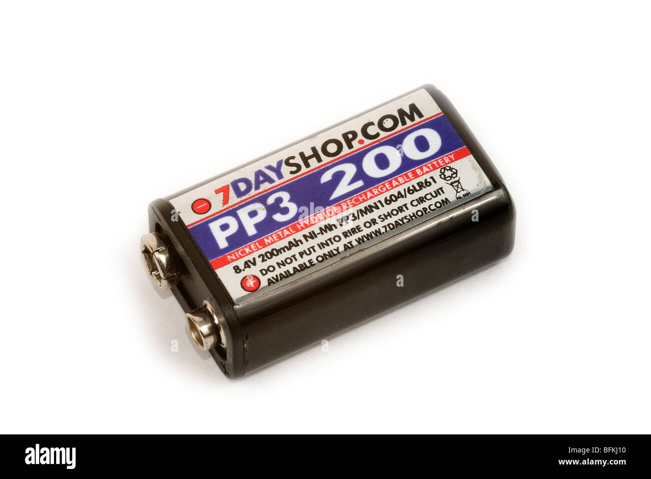 Rechargeable NiMH Battery - Stock Image