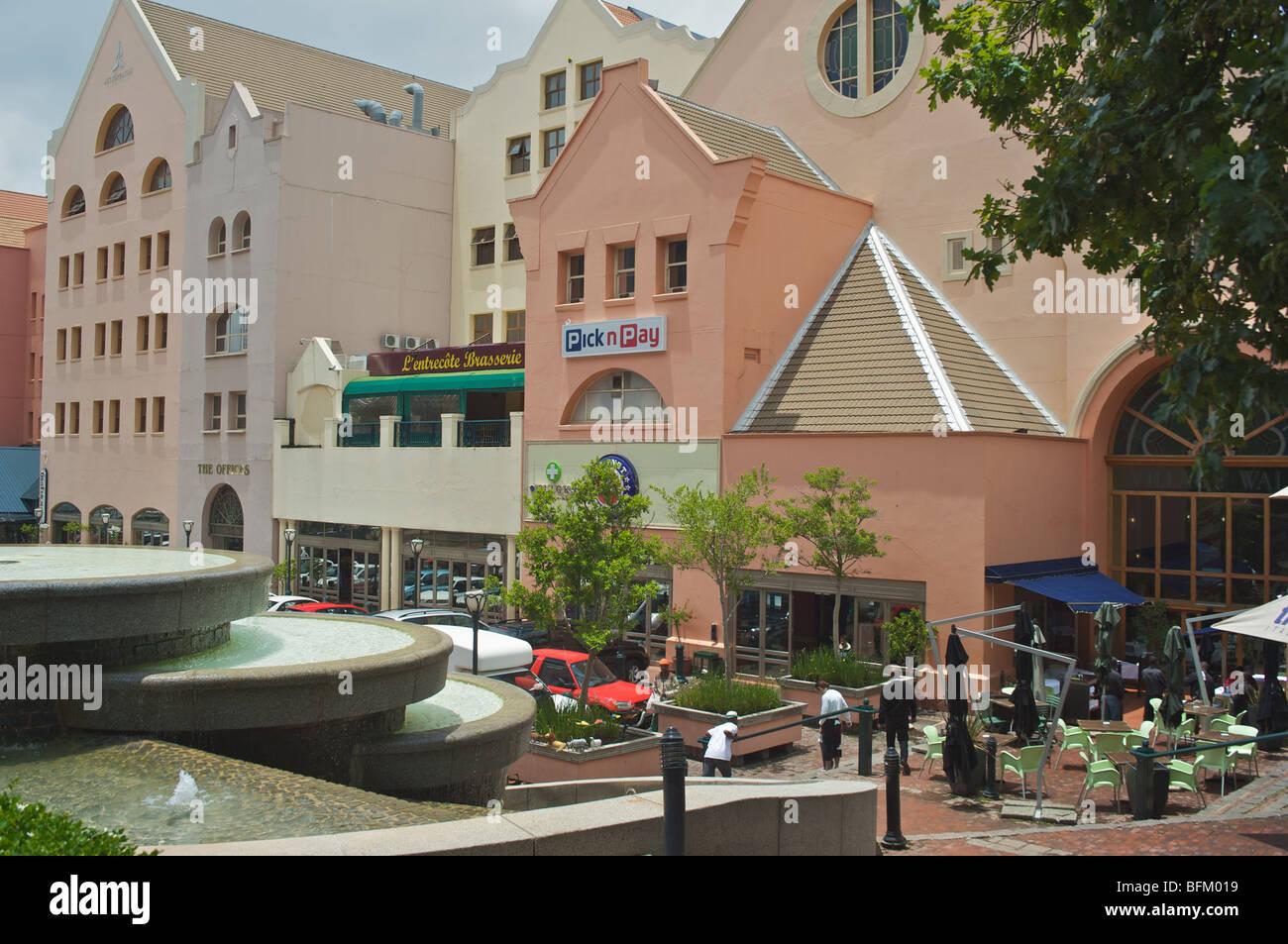 Village Walk shopping center Johannesburg - Stock Image