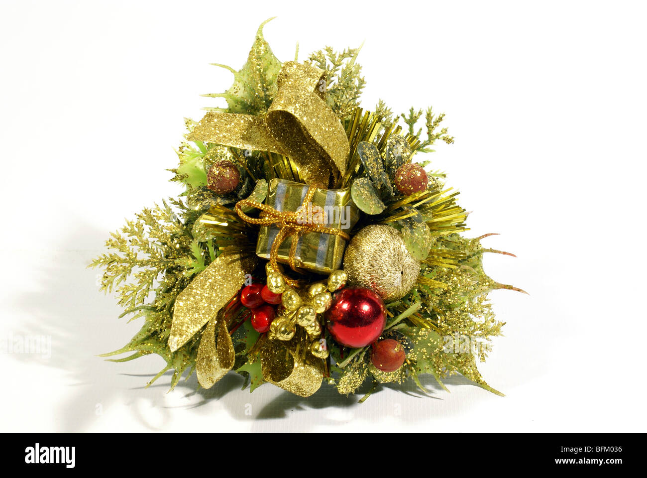 christmas decoration isolated in white background stock image - Greek Christmas Decorations