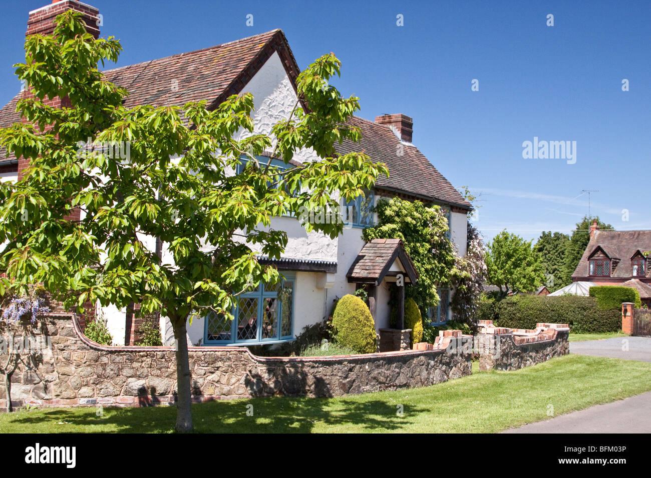 English country cottage, England UK - Stock Image