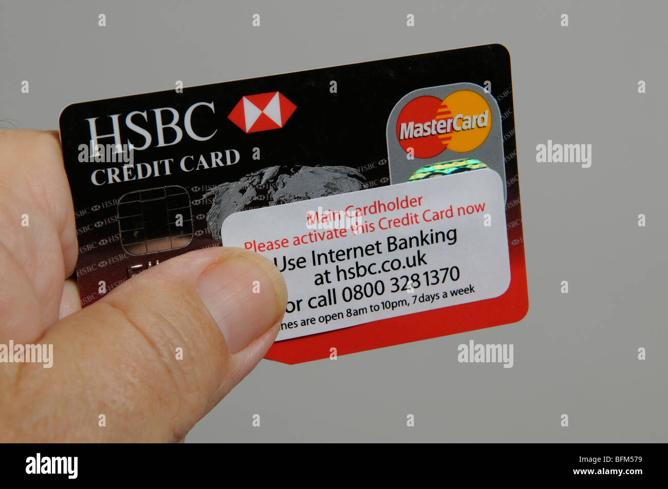 how to pay hsbc credit card