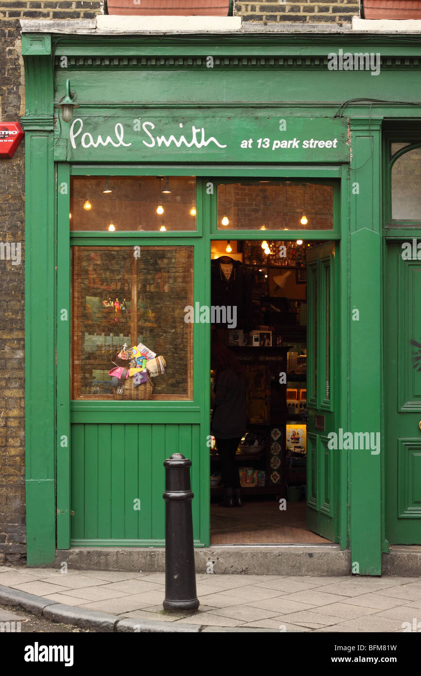 Paul Smith fashion designer shop store in Park Street Southwark London - Stock Image
