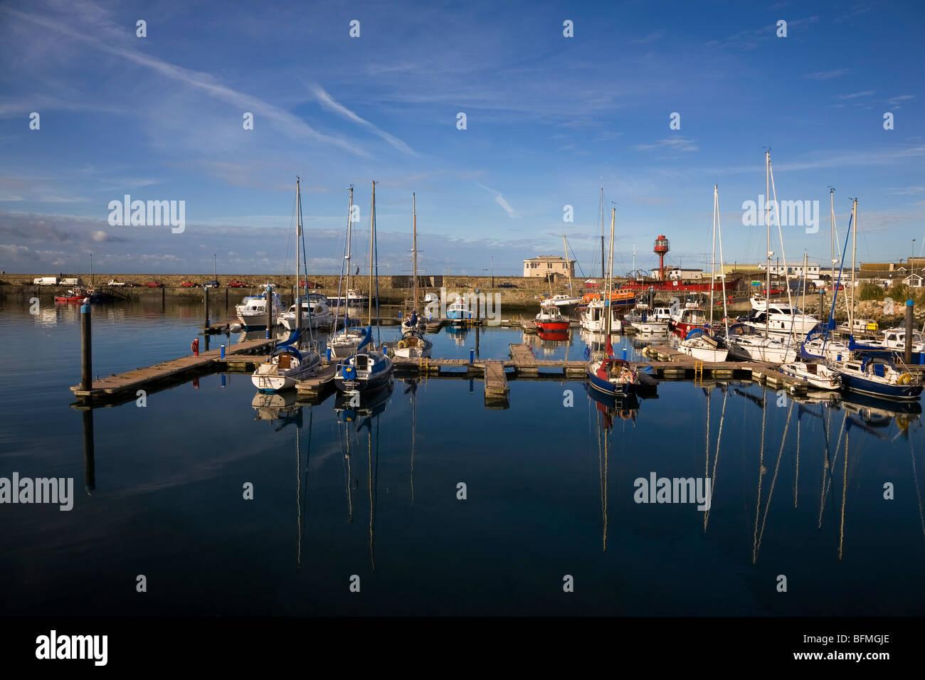 Yachts and Small Craft Marina, Kilmore Quay, County Wexford, Ireland - Stock Image