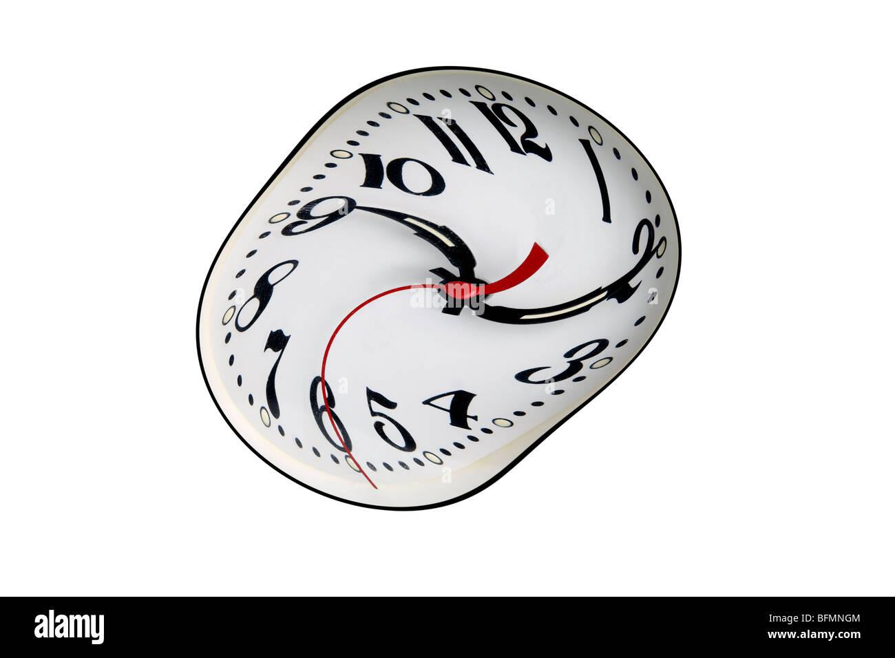 Time warp, conceptual artwork - Stock Image