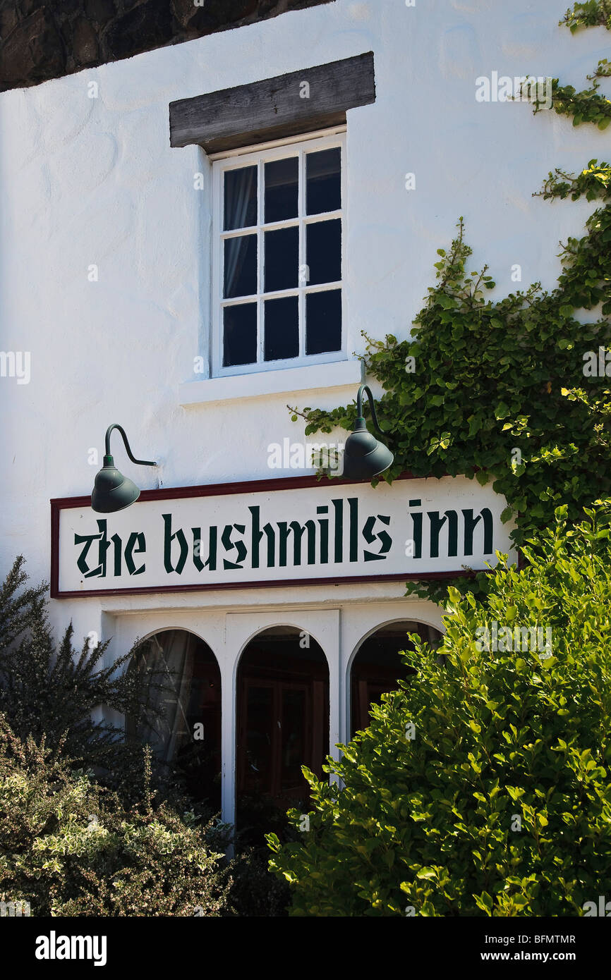 United Kingdom, Northern Ireland, Antrim, Aird, Bushmills, The Bushmills Inn. - Stock Image