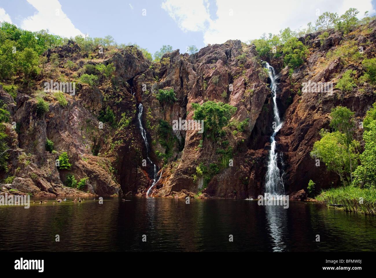 Australia, Northern Territory, Litchfield National Park.   Wangi Falls.(PR) - Stock Image