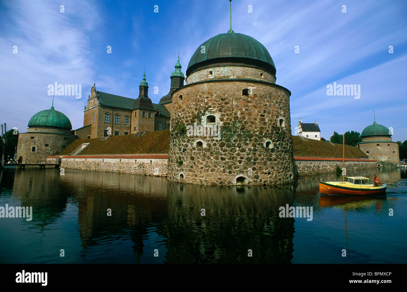 Sweden Ostergotland Vadstena The 16th Century Vadstena Castle Or Stock Photo Alamy