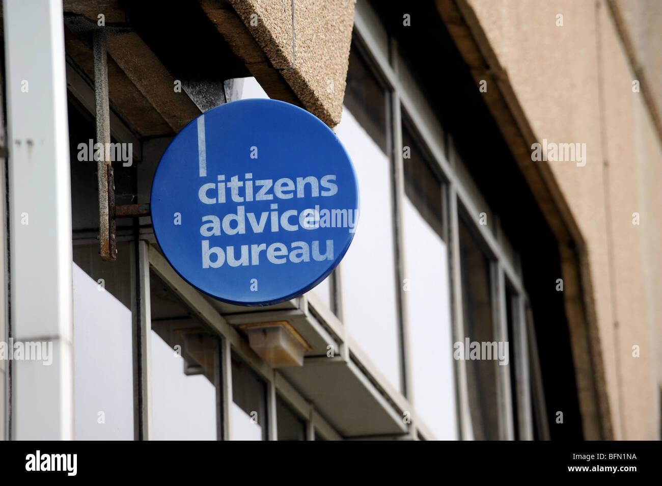 Citizens advice bureau sign stock photos citizens advice bureau