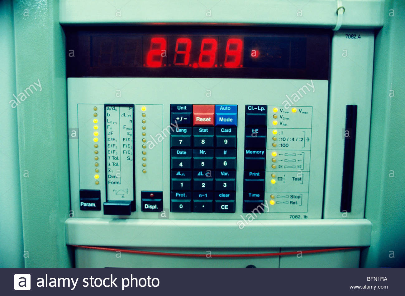 NCP 61253 : Control Panels ; India - Stock Image