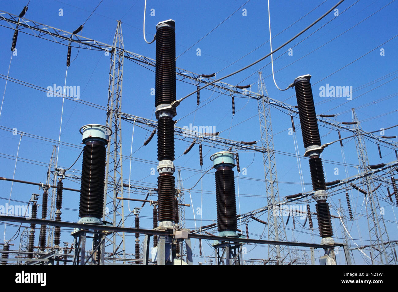 India Electric Transformers Stock Photos Electrical Wiring System In Vpa 61284 Power Plant Electricity Distribution Image