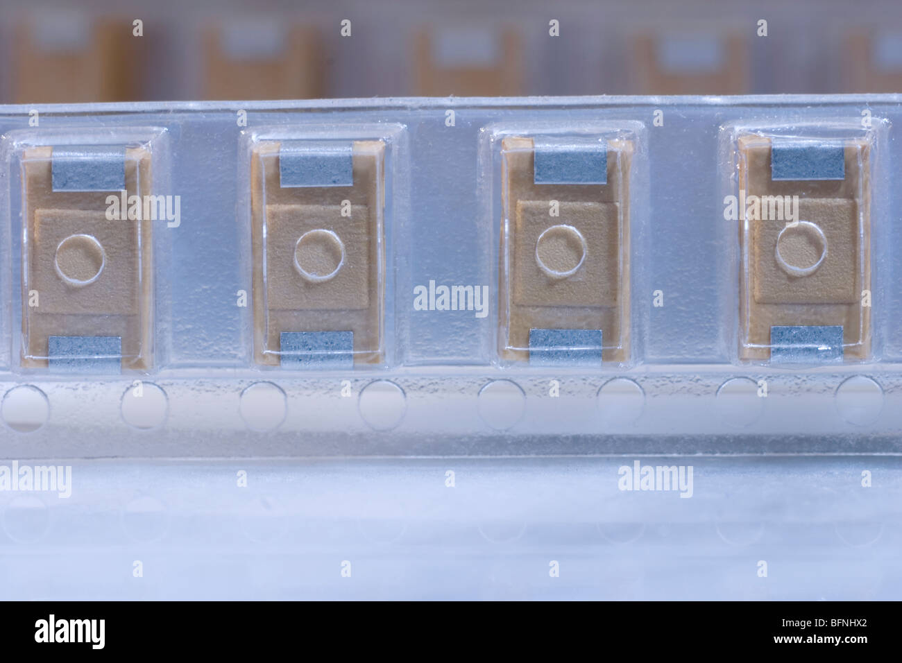 Capacitors - Stock Image