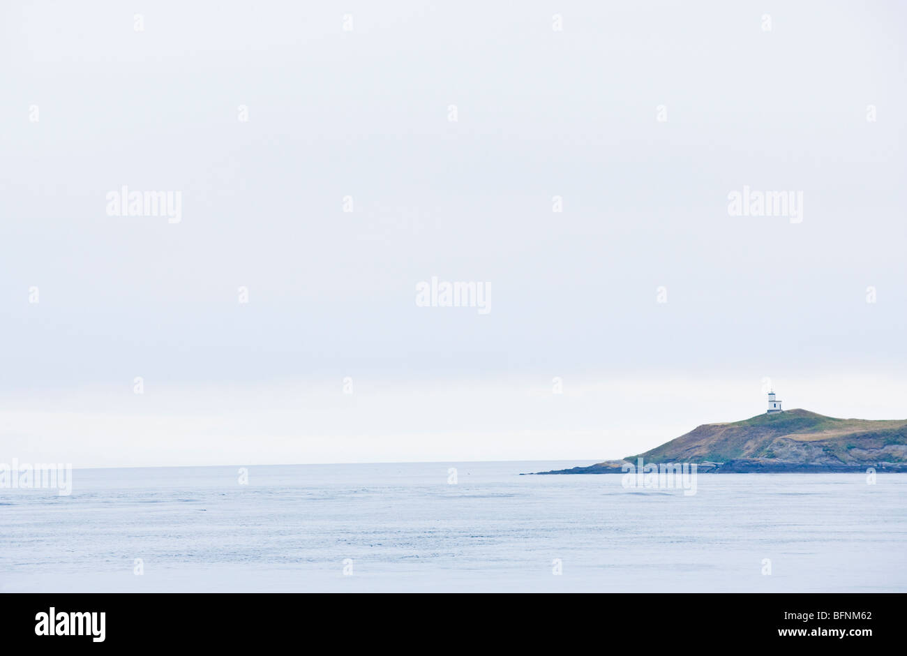 The Lighthouse Reservation on San Juan Island in the San Juan Island National Historical Park - Stock Image