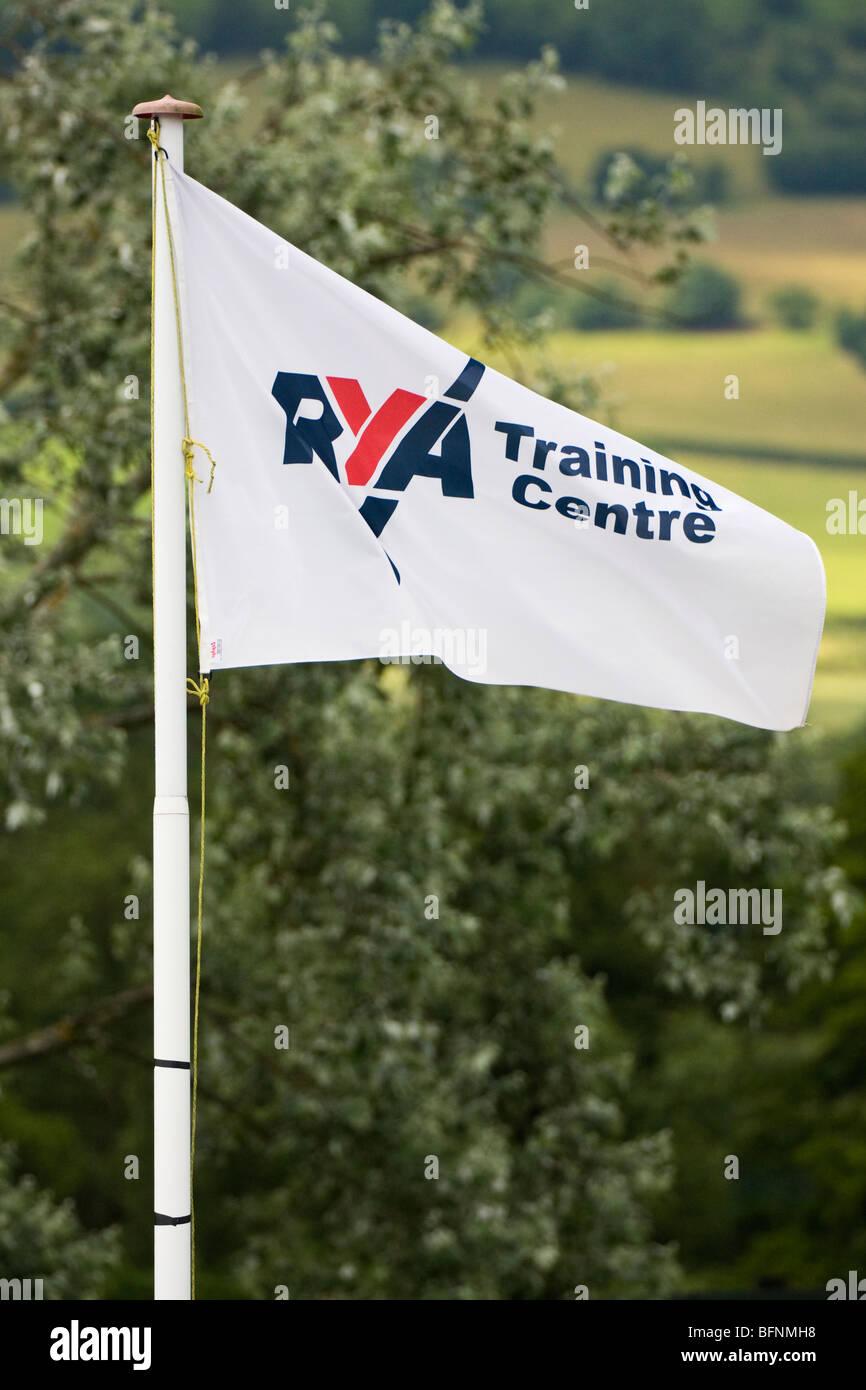 Royal Yachting association flag - Stock Image
