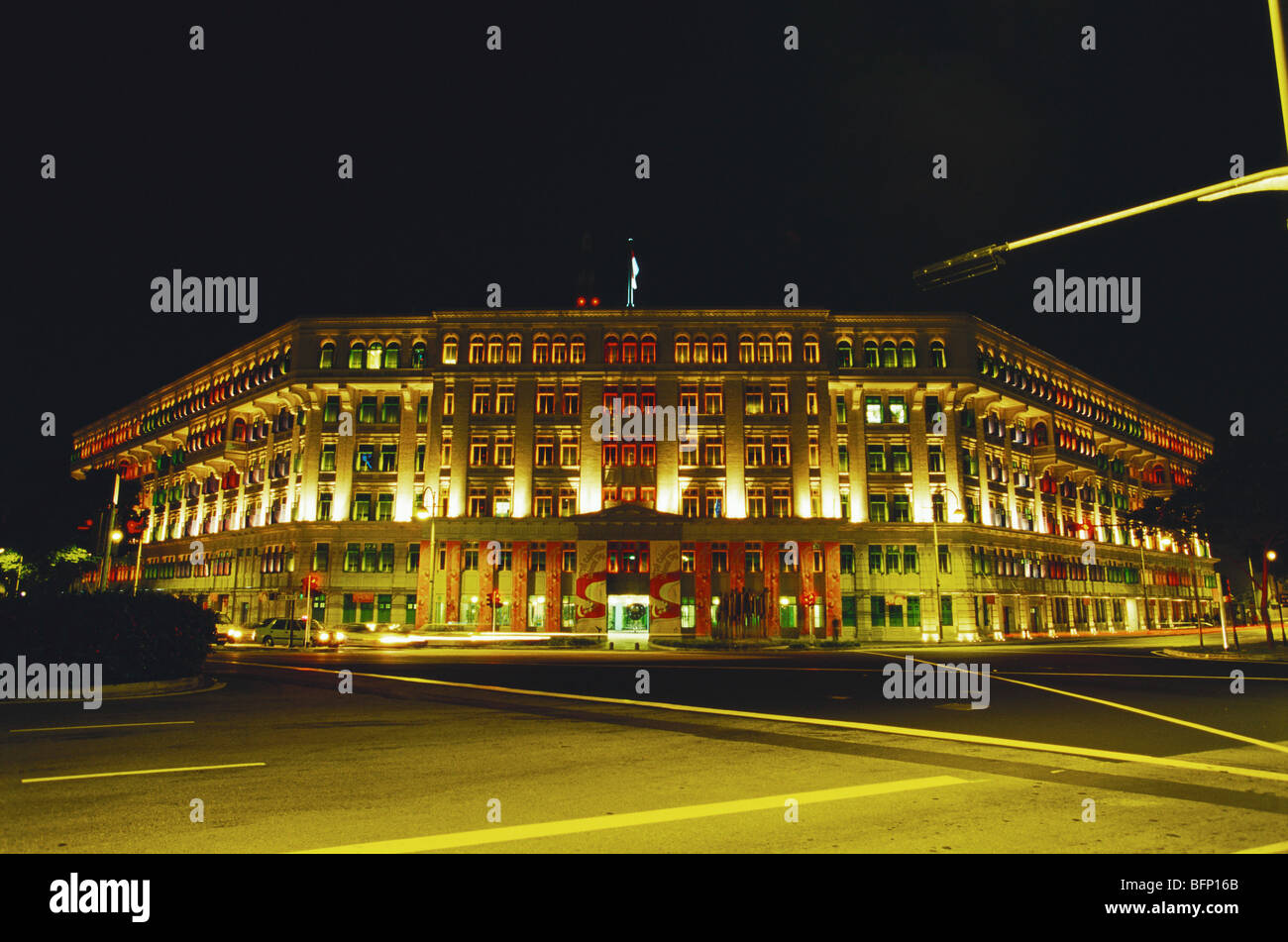 NPM 64488 : Cultural ministry building ; Singapore Asia - Stock Image