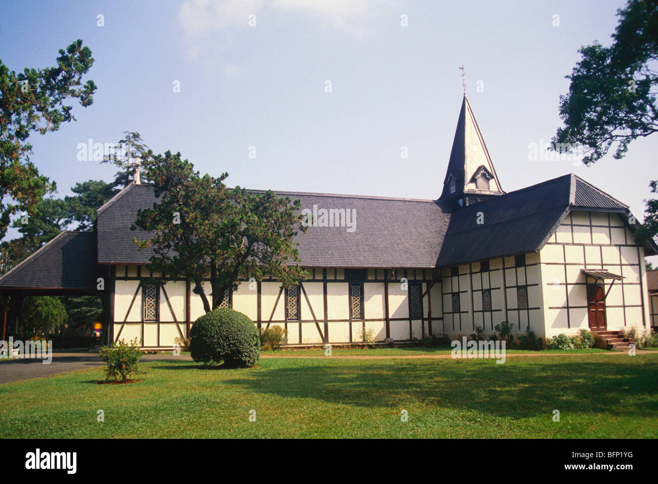 NGS 64607 : All Saints church ; Shillong; Meghalaya ; India - Stock Image