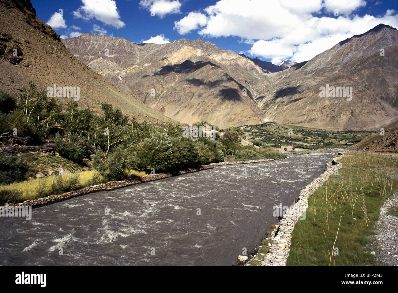 The Suru River a tributary of Indus River is river in Kargil