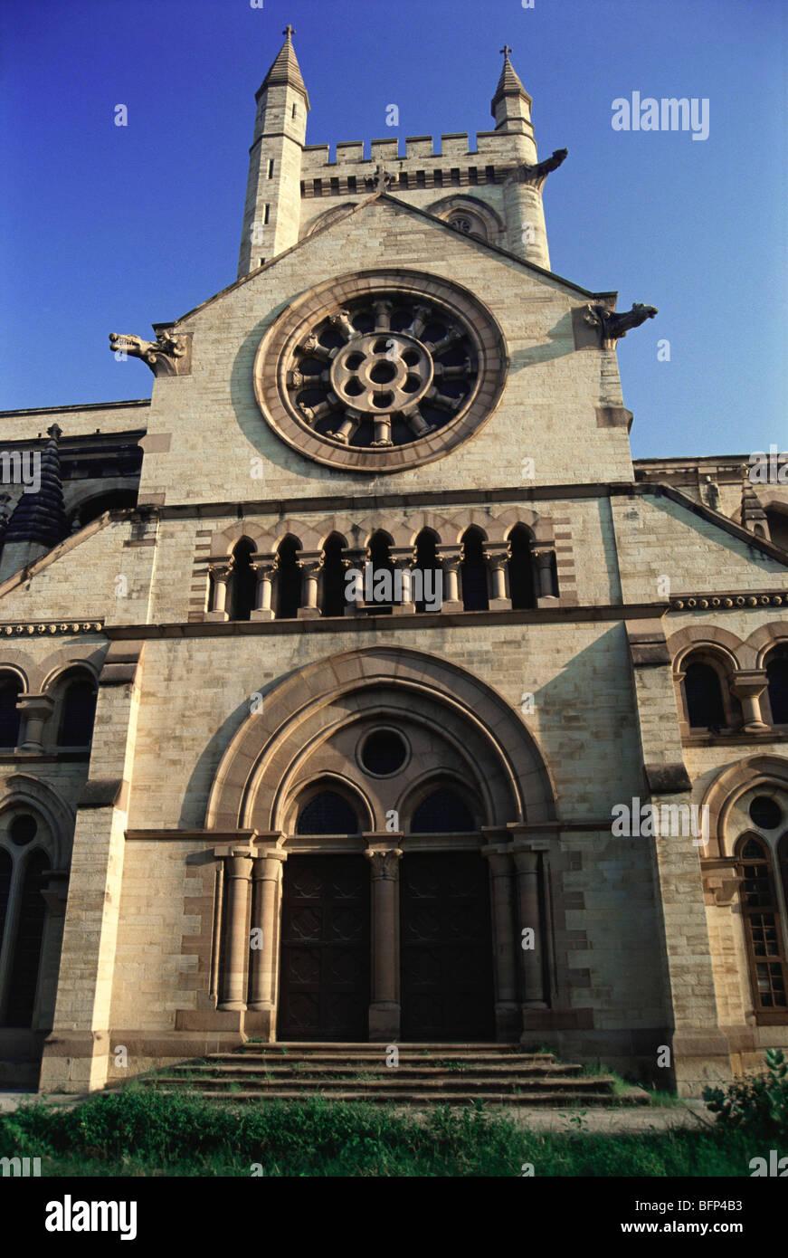 NGS 65822 : All Saints church ; Allahabad ; Uttar Pradesh ; India - Stock Image