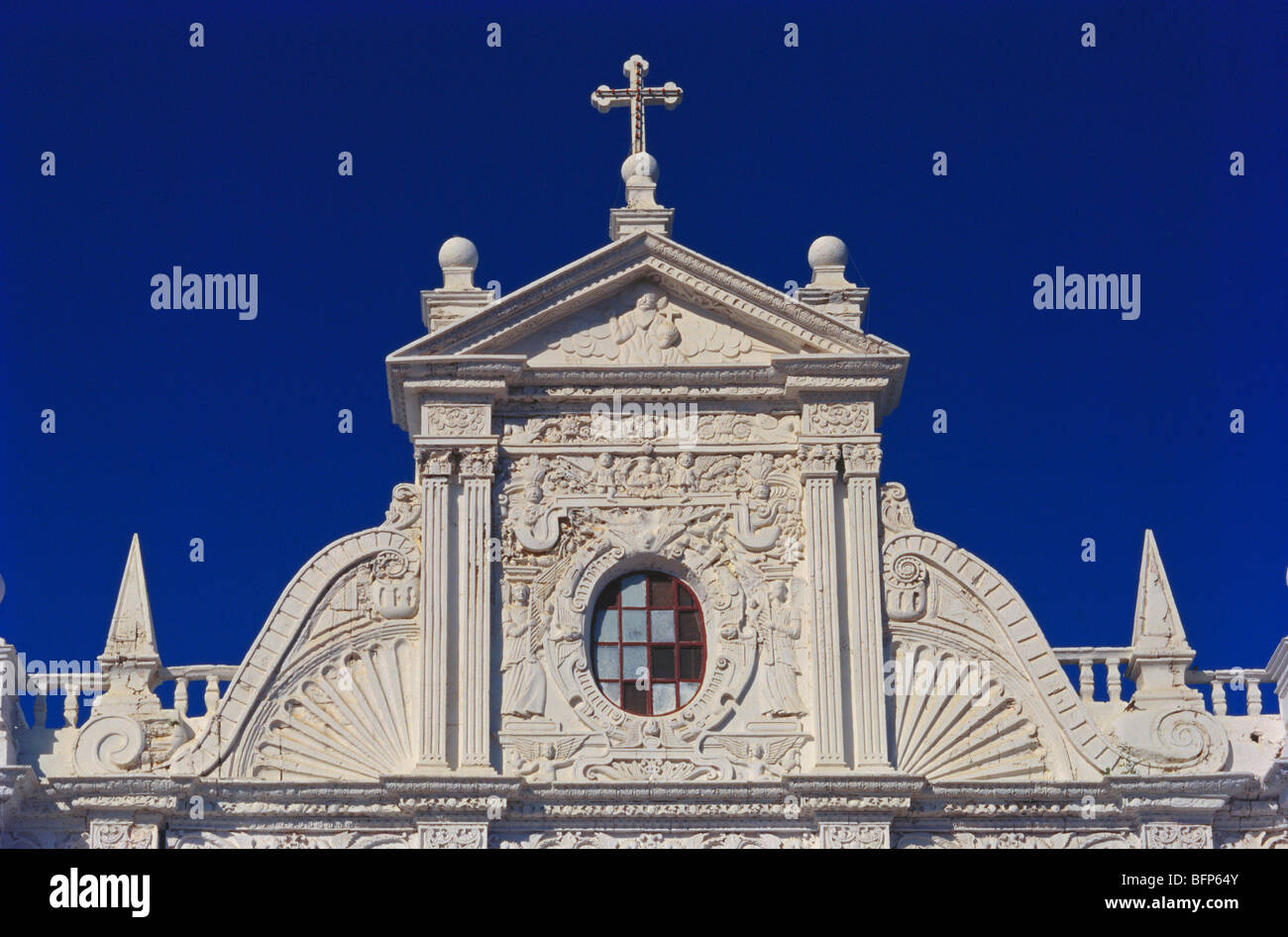 AAD 66268 : St Paul cathedral in 1691 ; Diu UT ; India - Stock Image
