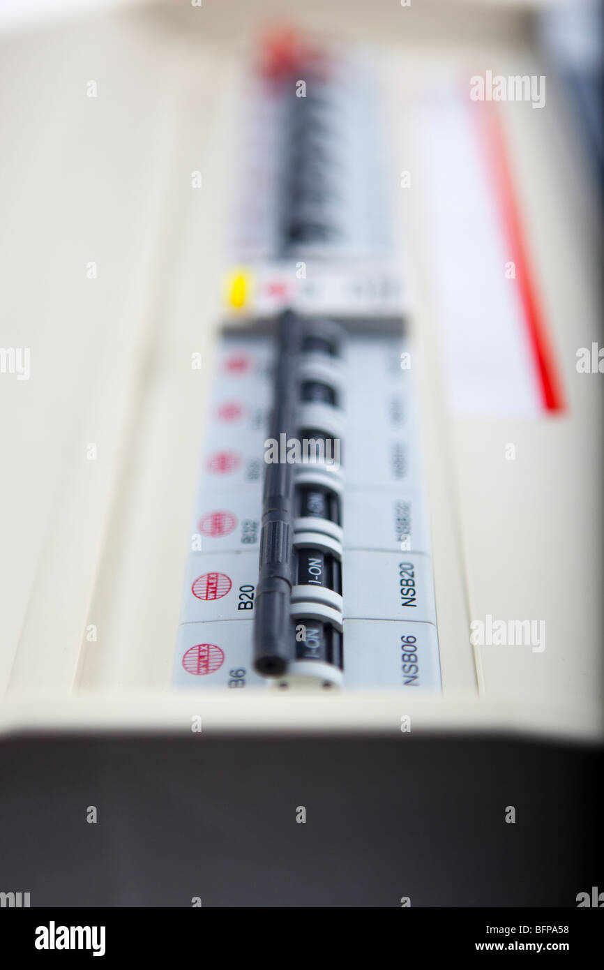 Fuse Stock Photos Images Alamy Split Load Consumer Unit Wiring Diagram Board Image