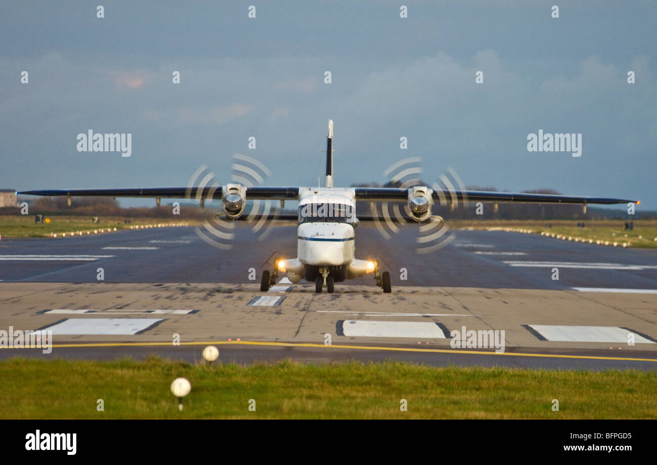 Dornier 228-202 Utility Transport Twin Engined Propellor Driven Aircraft  SCO 5567 - Stock Image