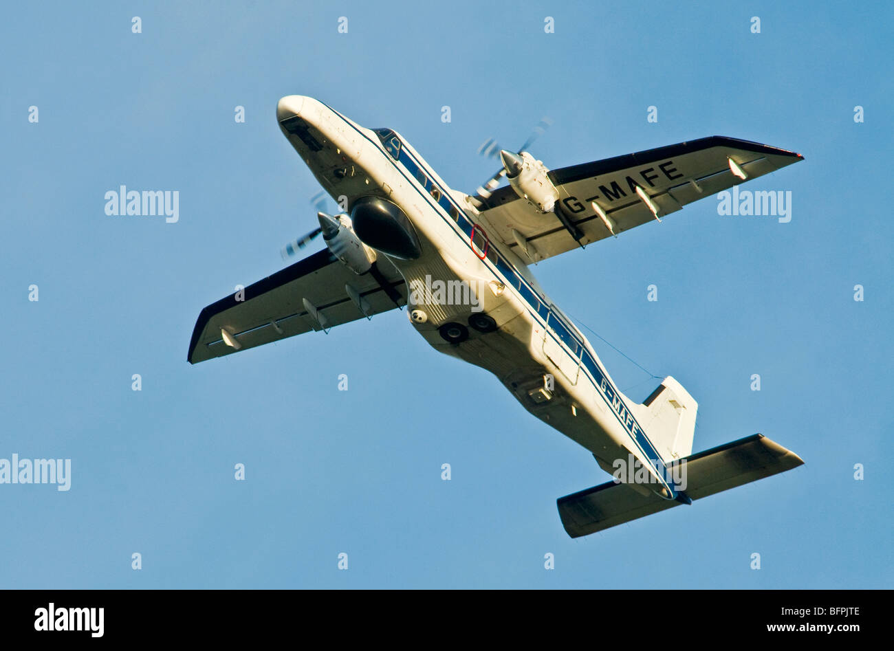 Dornier 228-202 Utility Transport Twin Engined Propellor Driven Aircraft   SCO 5577 - Stock Image