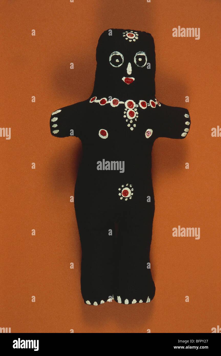 MPC 66726 : Symbol ; voodoo black magic doll ; India - Stock Image