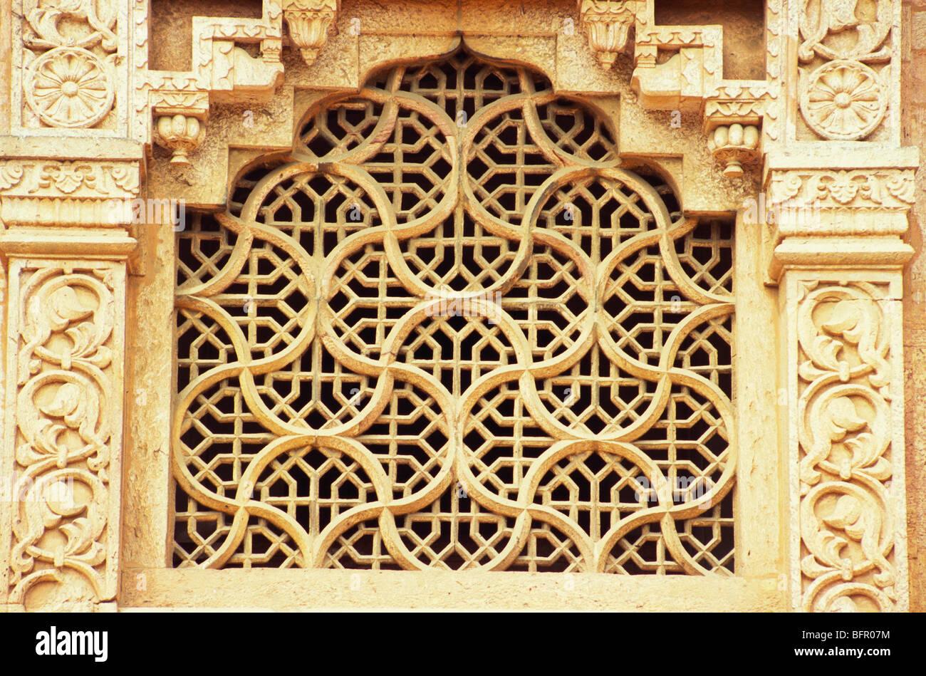 Nmk richly stone carved jali at national art