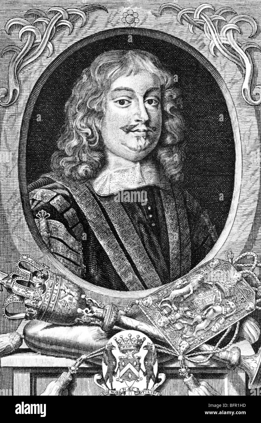 EDWARD HYDE, 1st Earl of Clarendon (1609-74)  English statesman - Stock Image