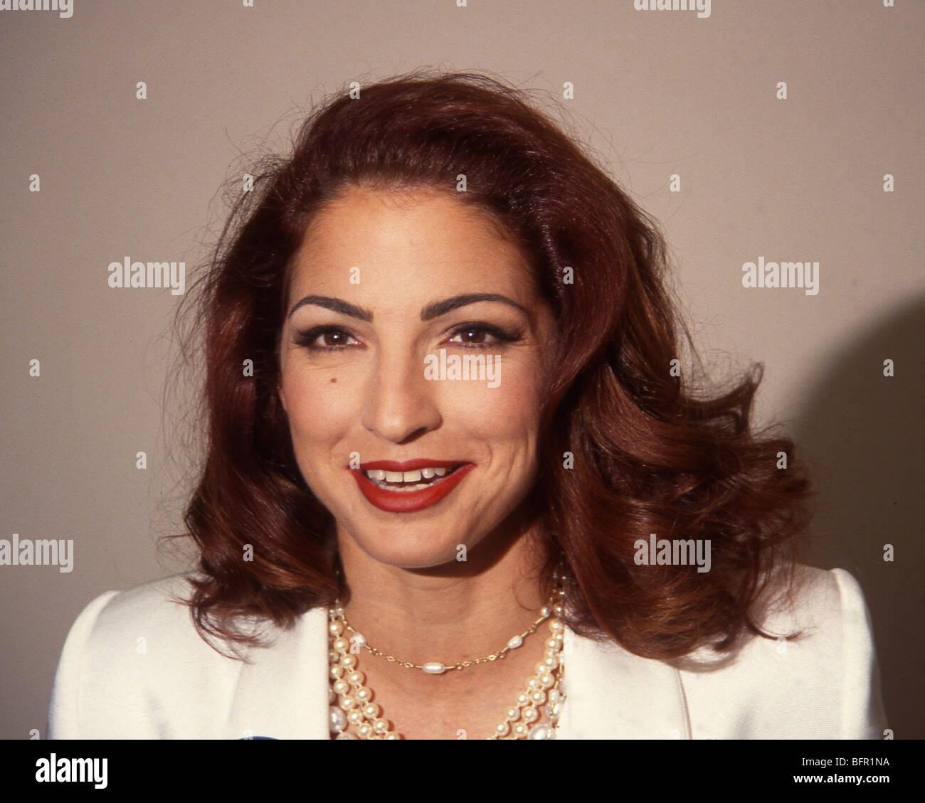 GLORIA ESTEFAN - US Latin American singer in 1993 - Stock Image
