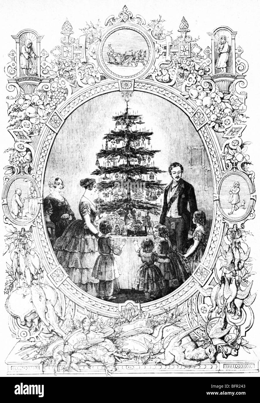 Victorian Christmas Tree Stock Photos & Victorian Christmas Tree ...