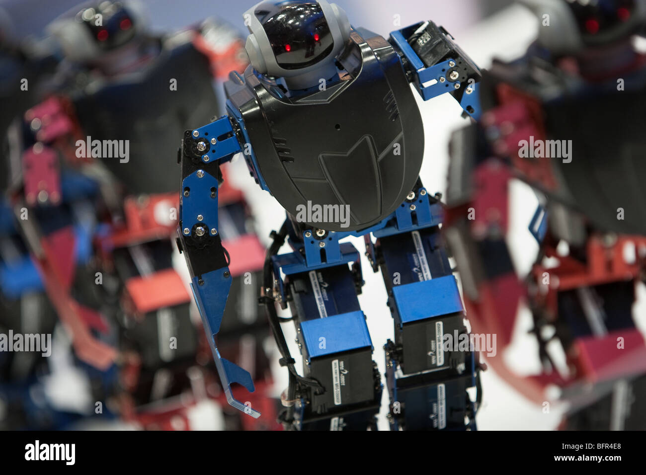 International Robot Exhibition 2009, in Tokyo, Japan, Wednesday 25th November 2009. - Stock Image