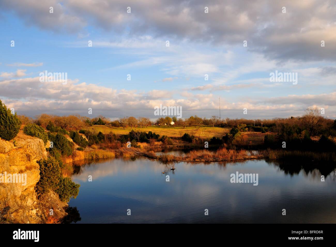 Scenic landscape. Oklahoma, USA. Stock Photo