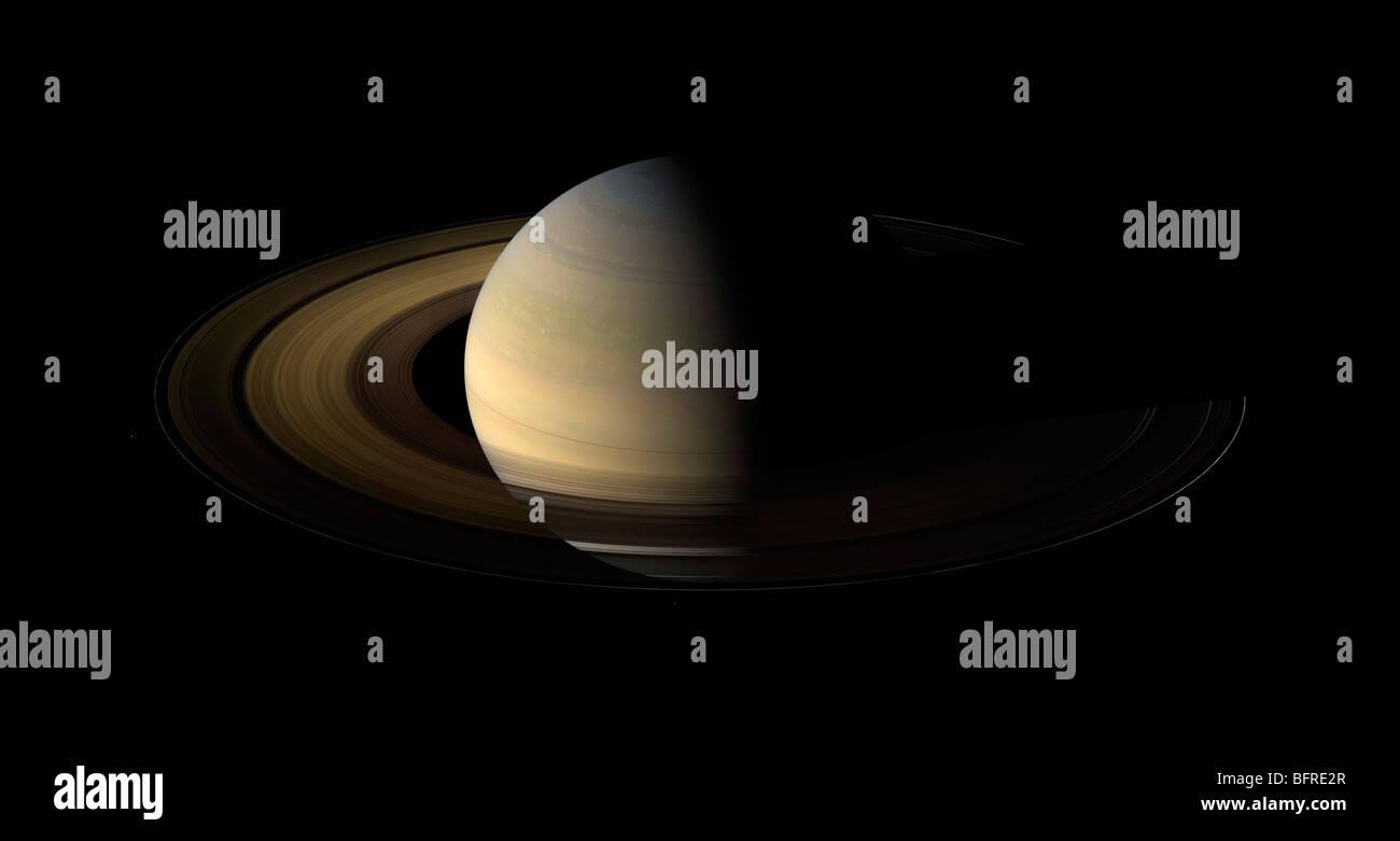 Saturn Equinox - Stock Image