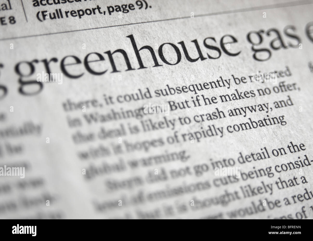 greenhouse the cost of gas articles