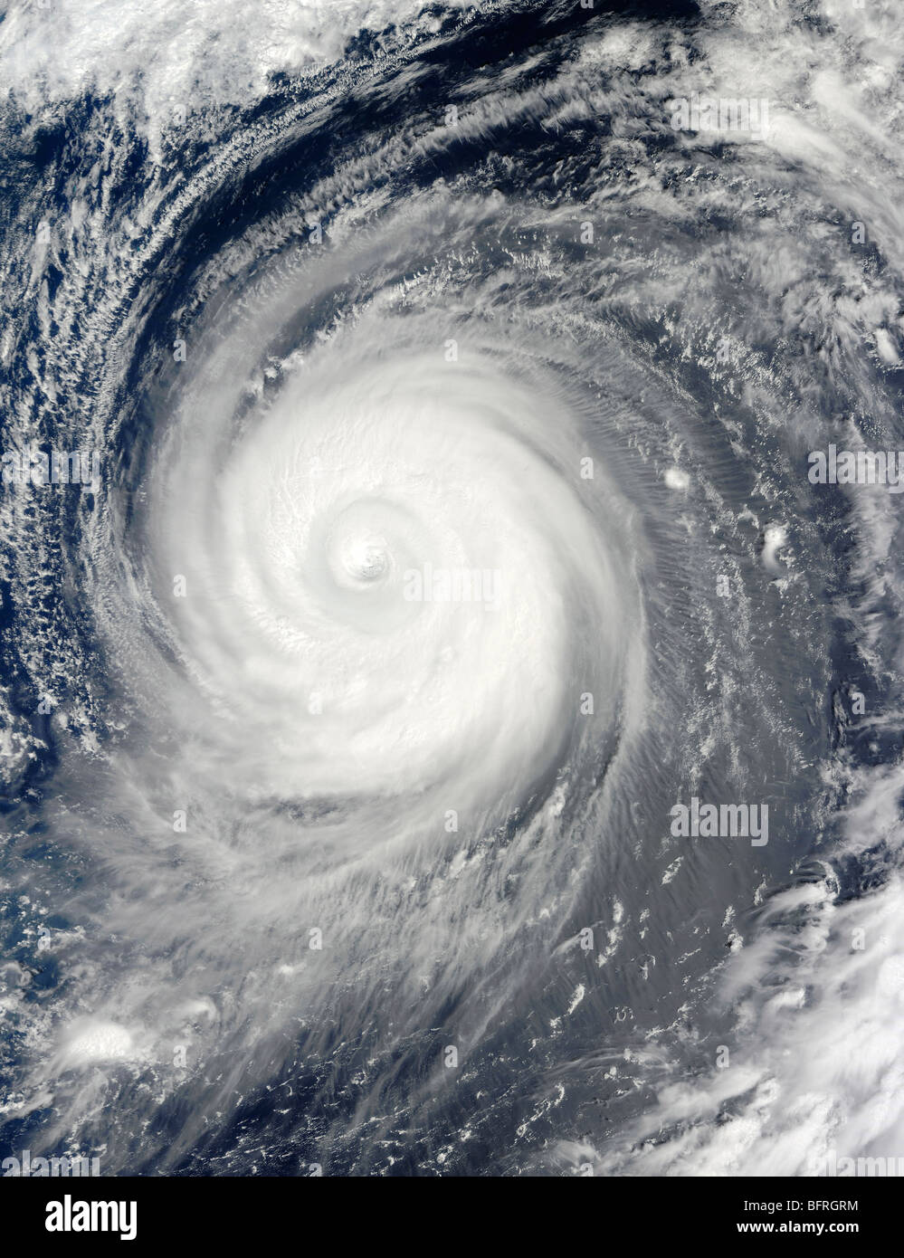 September 18, 2009 - Typhoon Choi-wan south of Japan, Pacific Ocean. - Stock Image