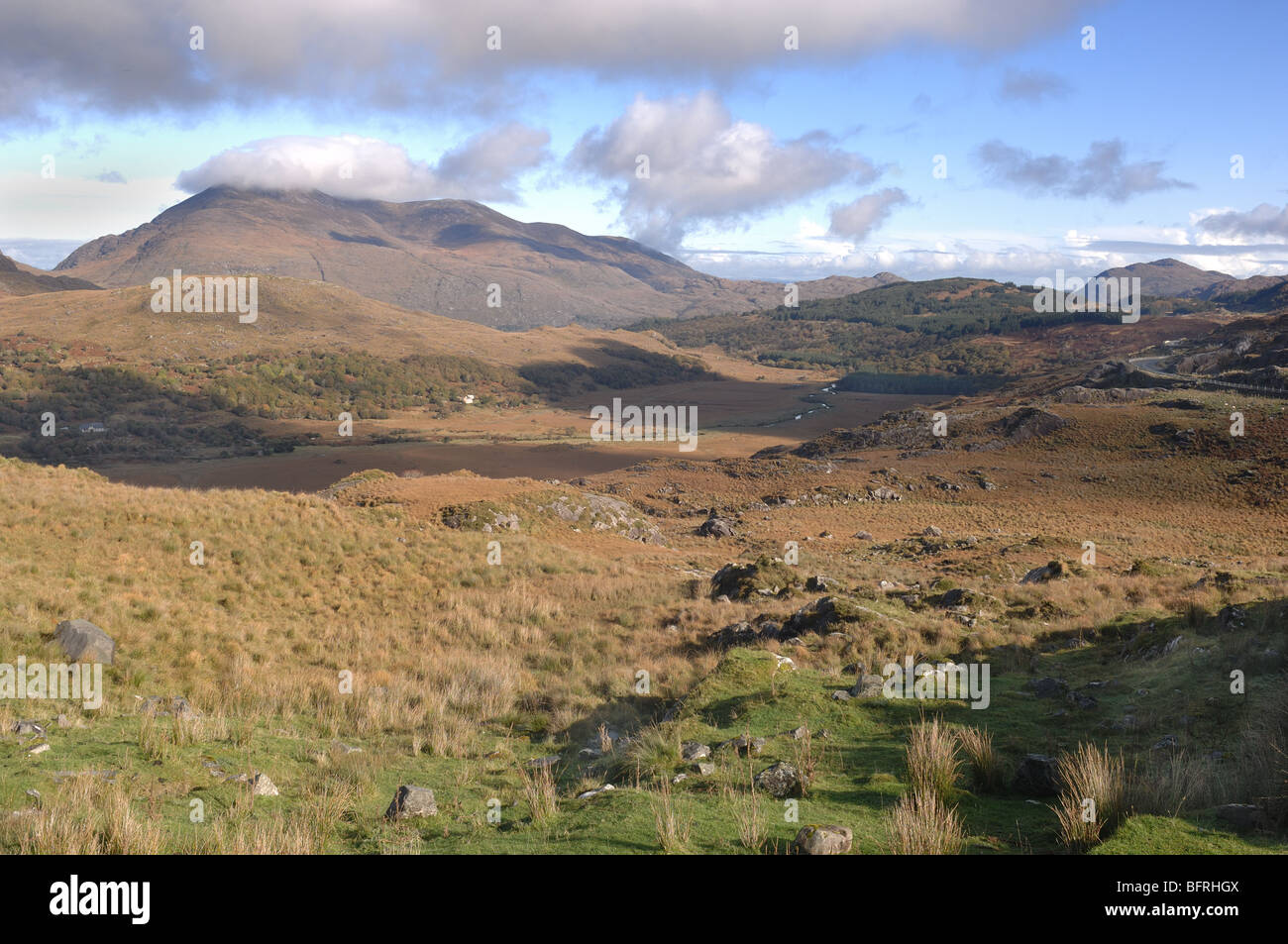Irish Mountains - Stock Image