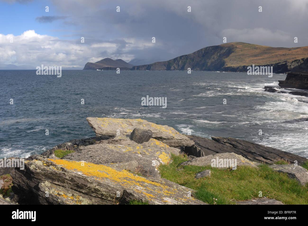 Irish Coast - Stock Image
