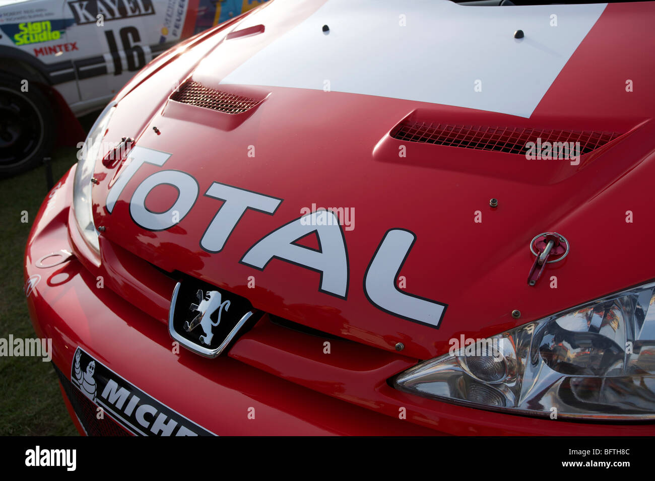 Peugeot  Rally Car - Stock Image