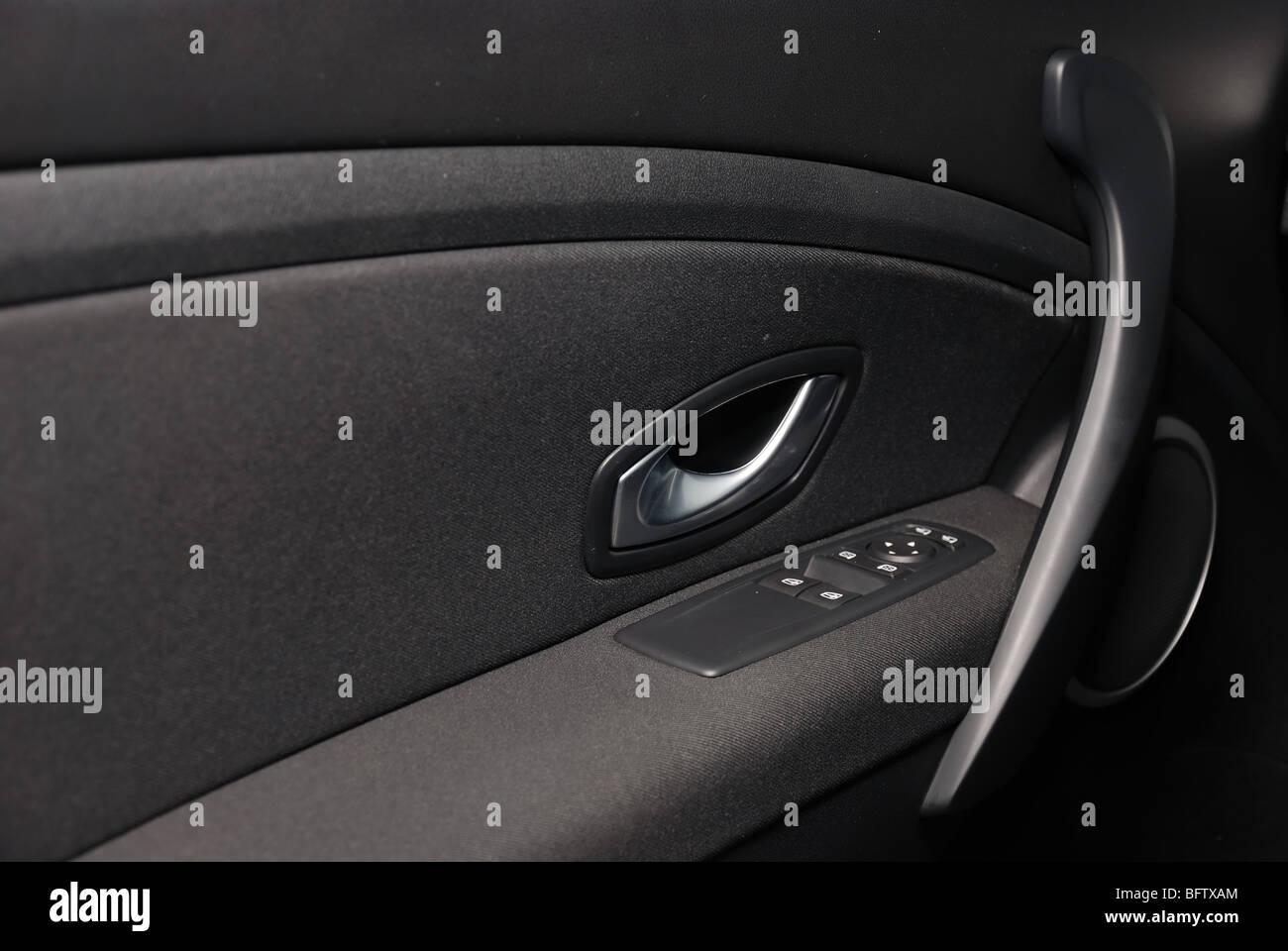 Renault Megane Iii Coupe 2 0 Tce 2009 Black Metallic Two Doors Stock Photo Alamy