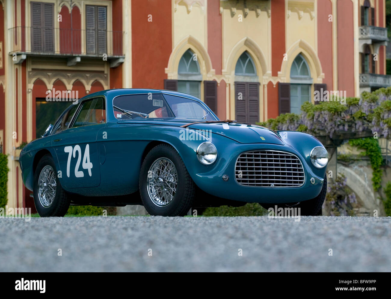 ferrari 166mm 195s berlinetta le mans by touring 1950 stock photo 26986702 alamy. Black Bedroom Furniture Sets. Home Design Ideas