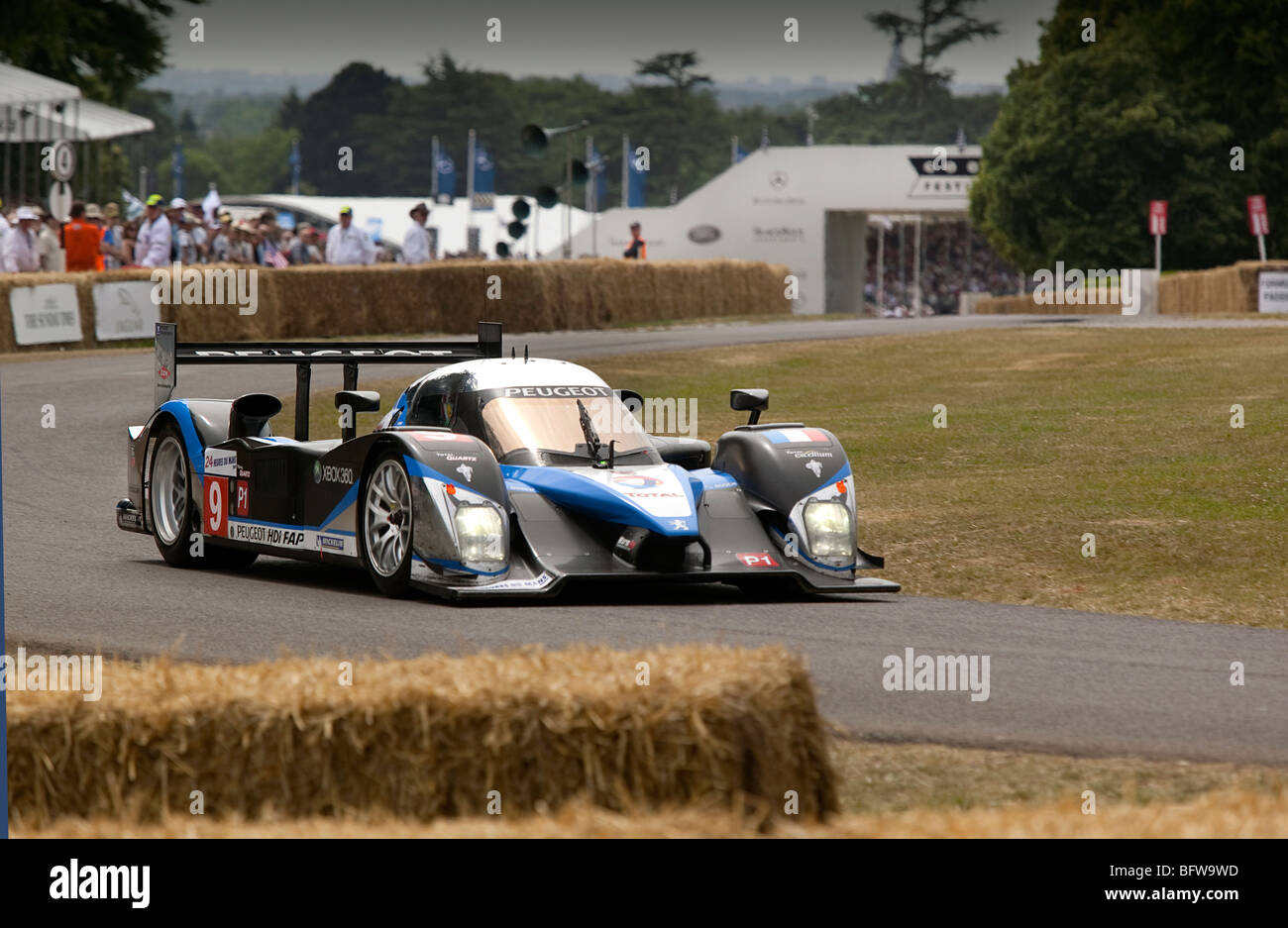 Peugeot 908 HDi FAP. 2009 Le Mans winner. - Stock Image