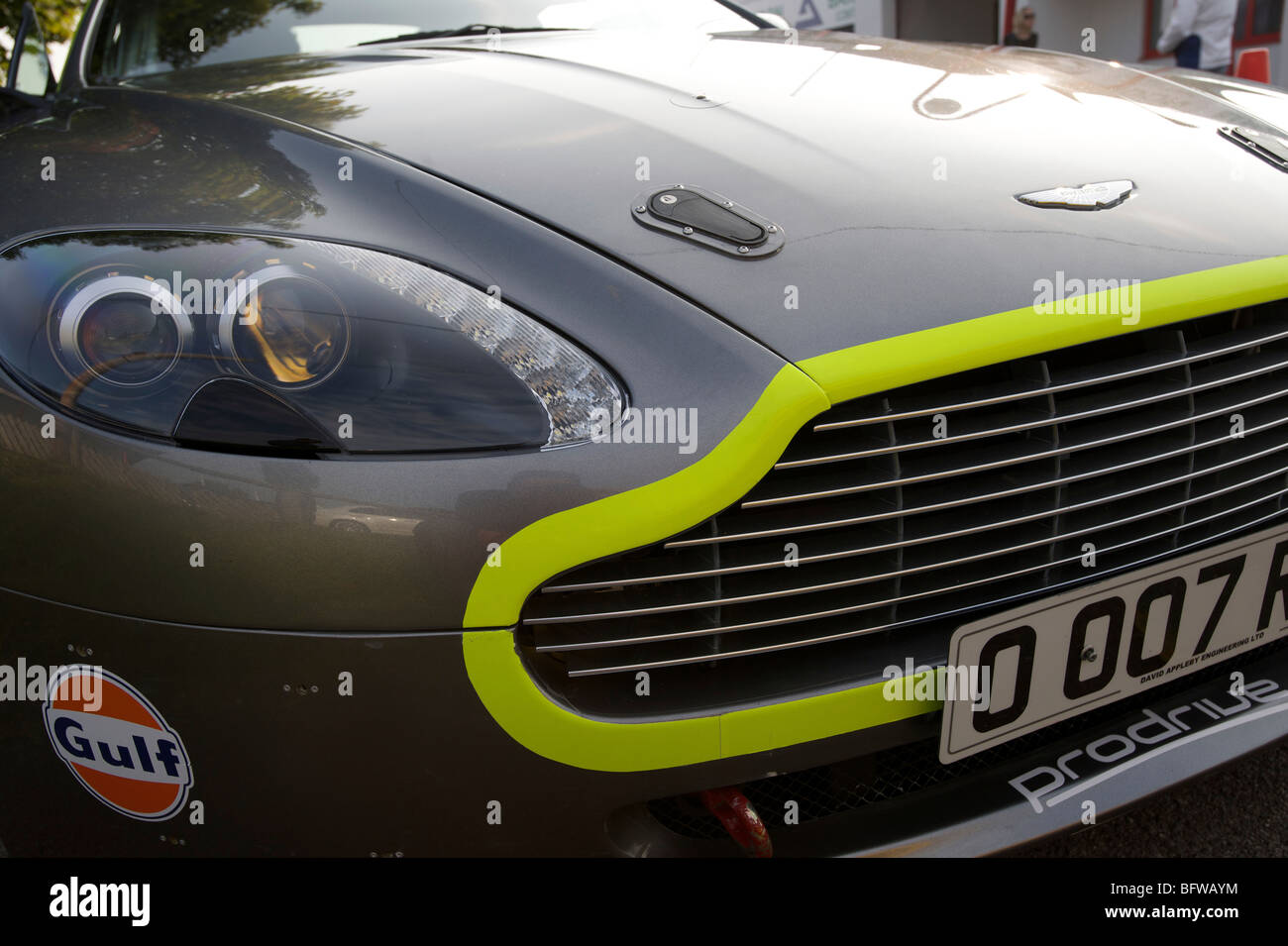 Aston Martin DB9 Rally Car prodrive - Stock Image