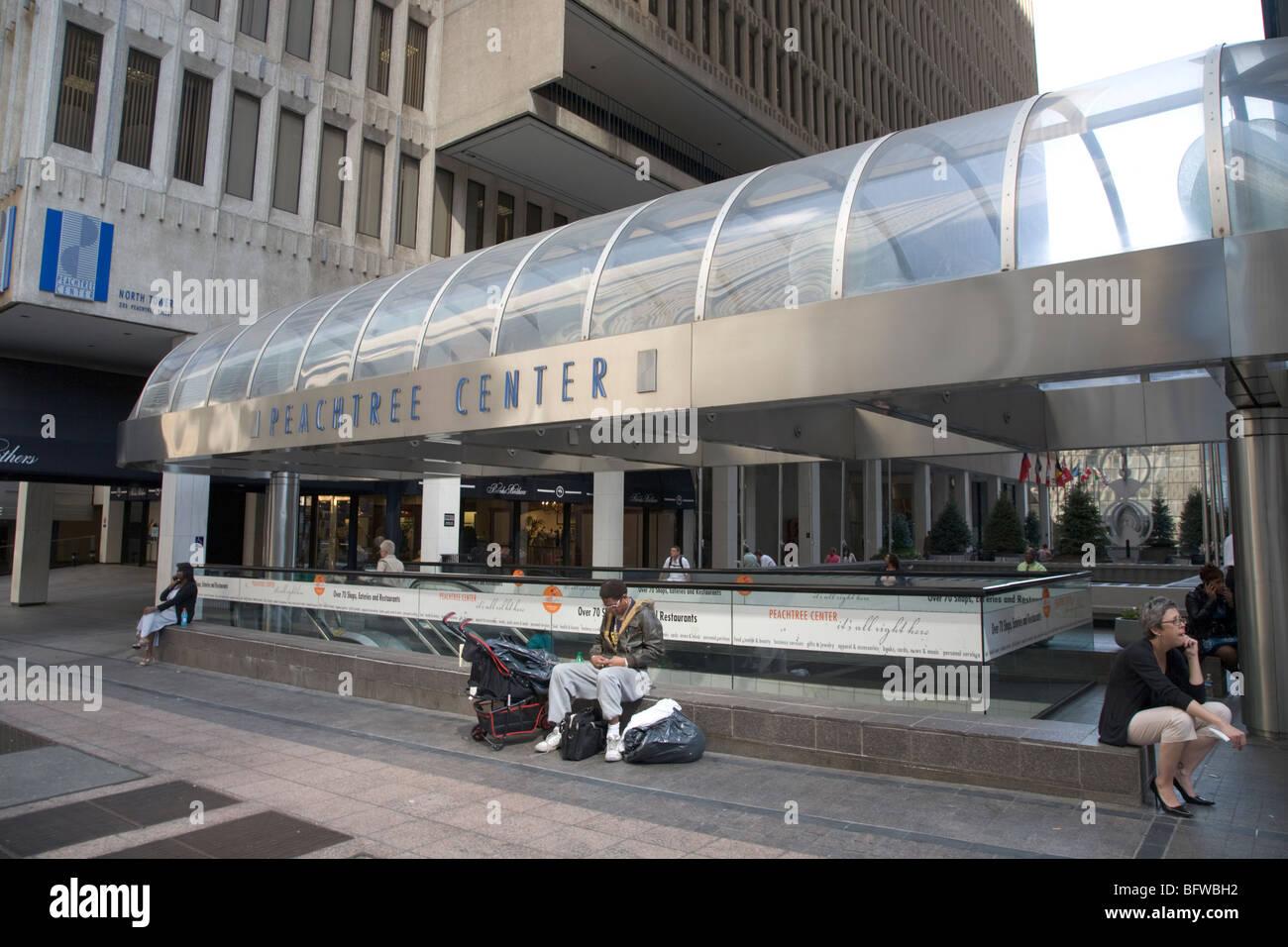 Peachtree Shopping Center Atlanta - Stock Image
