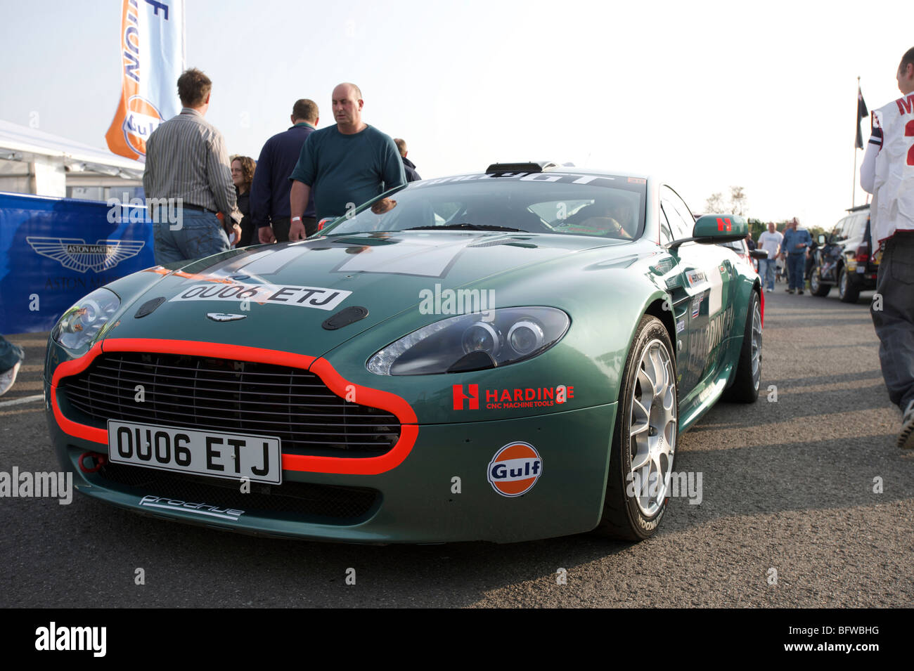 Aston Martin DB9 Rally Car Prodrive