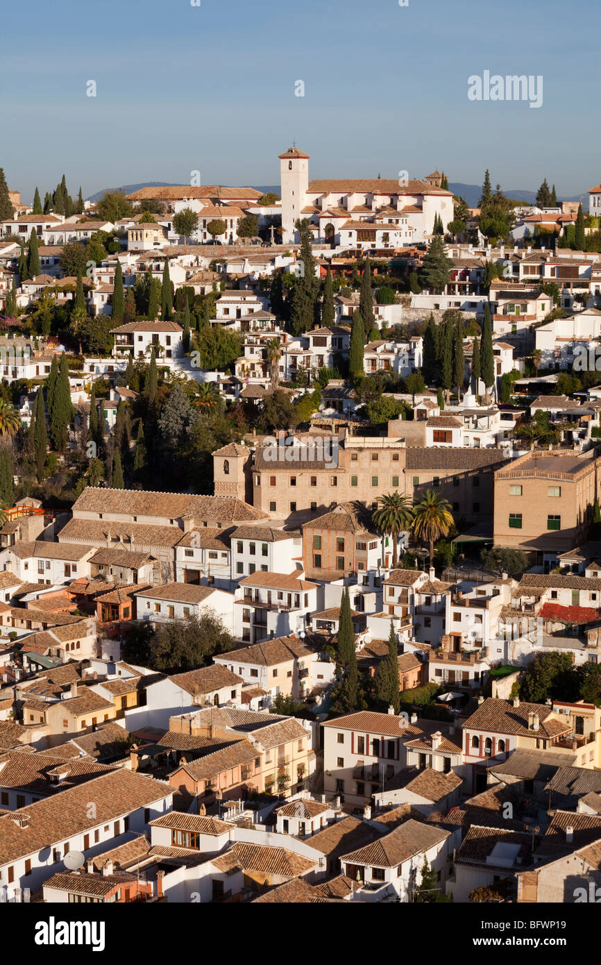 Old Town Granada Stock Photos & Old Town Granada Stock Images - Alamy