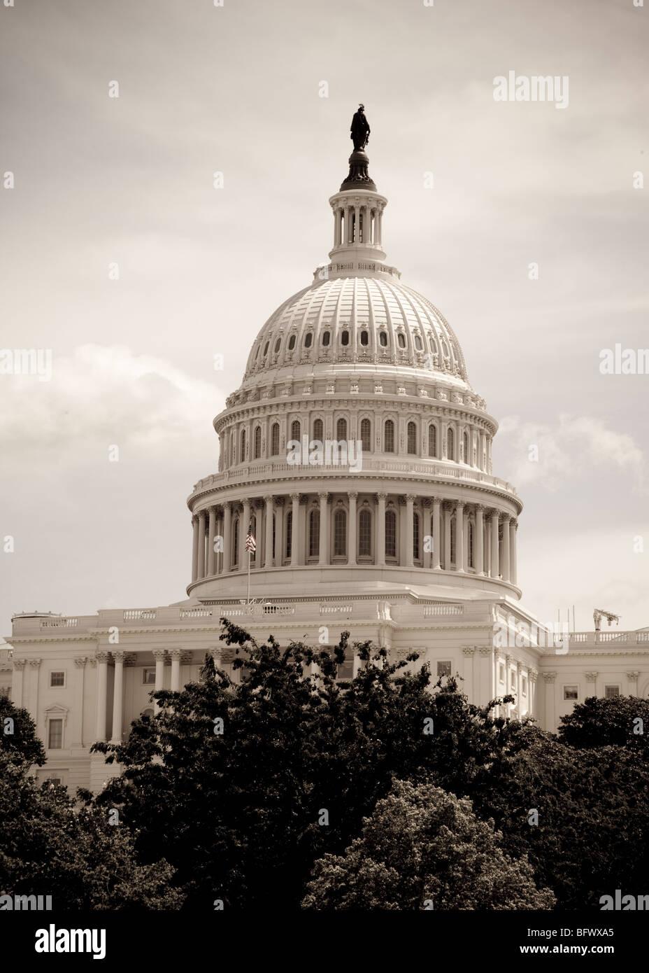 U.S. Capitol - Stock Image