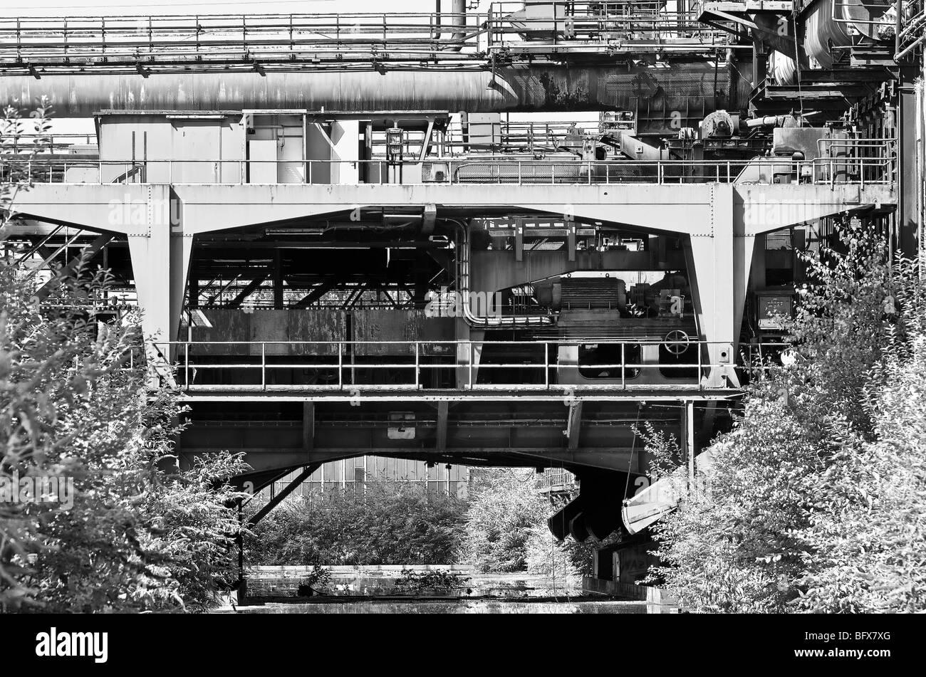 coking plant Zollverein - Stock Image